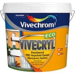 ακρυλικό οικολογικό χρώμα VIVECRYL-ECO