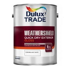 dulux trade weathershield quick drying exterior gloss