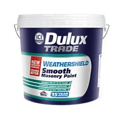 dulux trade weathershield smooth masonry paint