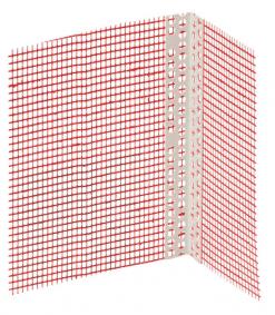 Baumit Πλαστικό γωνιόκρανο με πλέγμα